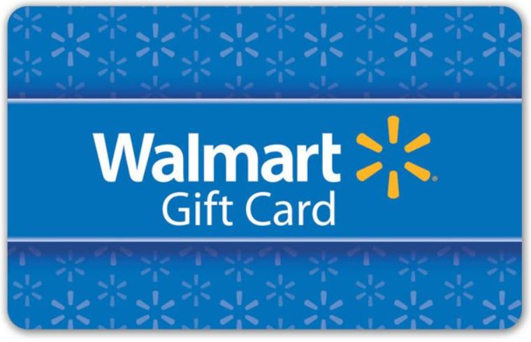 Wal-Mart $25 Gift Card  Giveaway