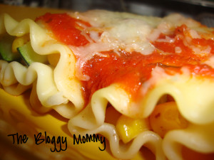 zucchini-corn cannelloni