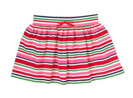 crazy 8 stripe knit skirt