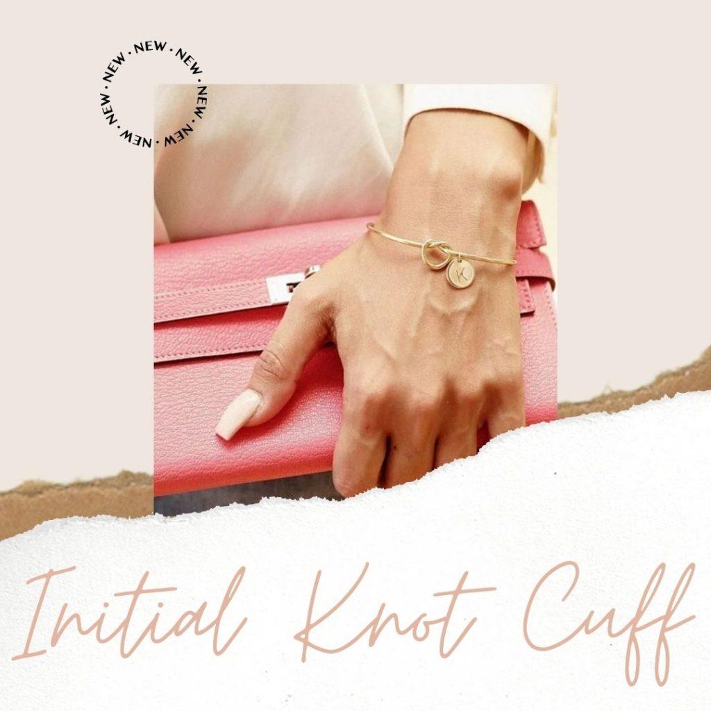 Initial Knot Cuff